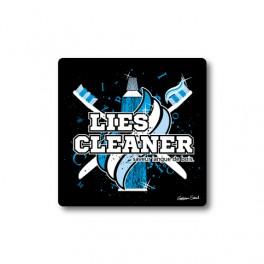 Lies Cleaner   Sticker