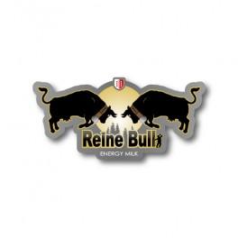 Reine Bull gold   Sticker